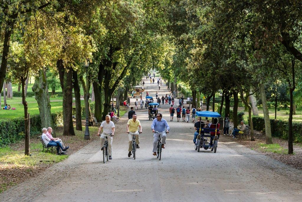 Villa Borghese's park